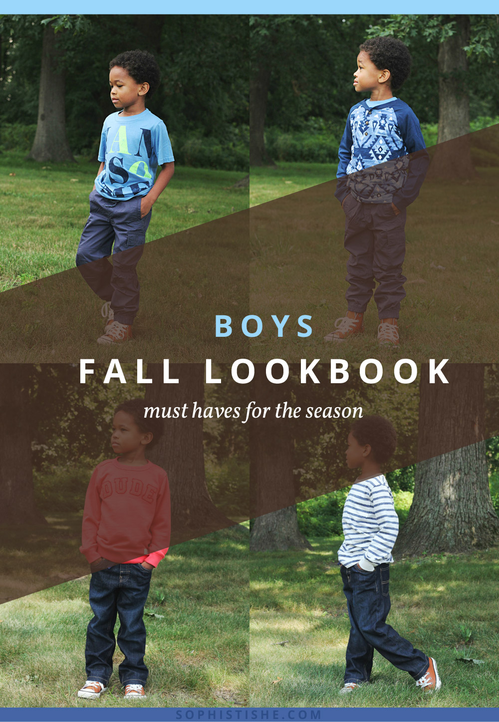 Boys Fall Back to School Lookbook