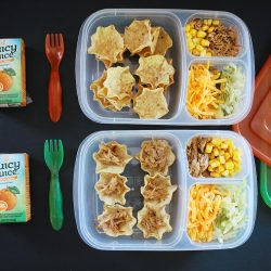Lunch For The Minis: Mini Taco Bowls