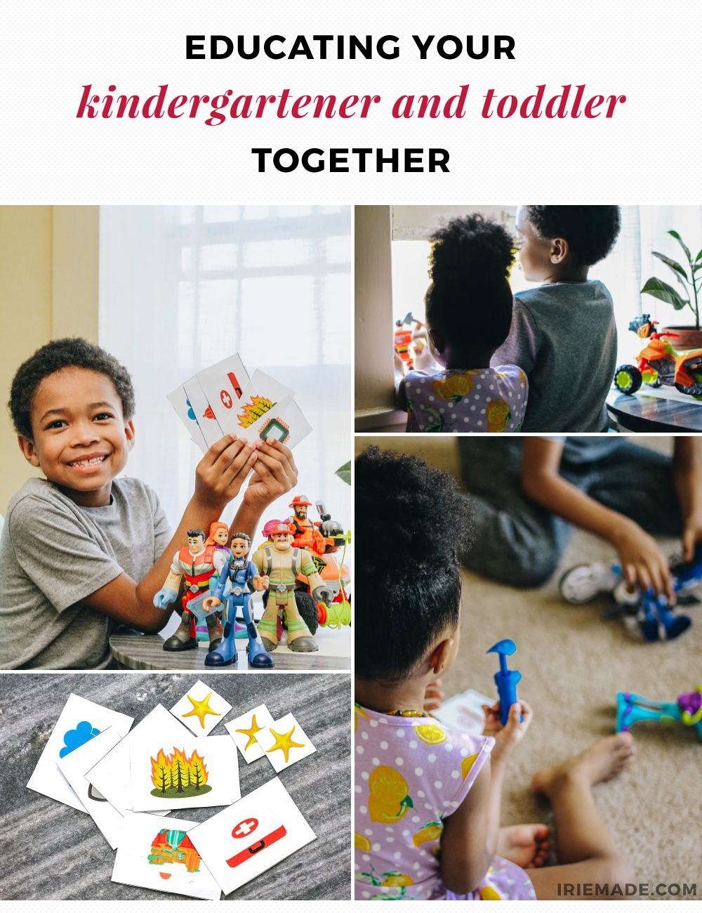 Educating a Kindergartner and Toddler Together
