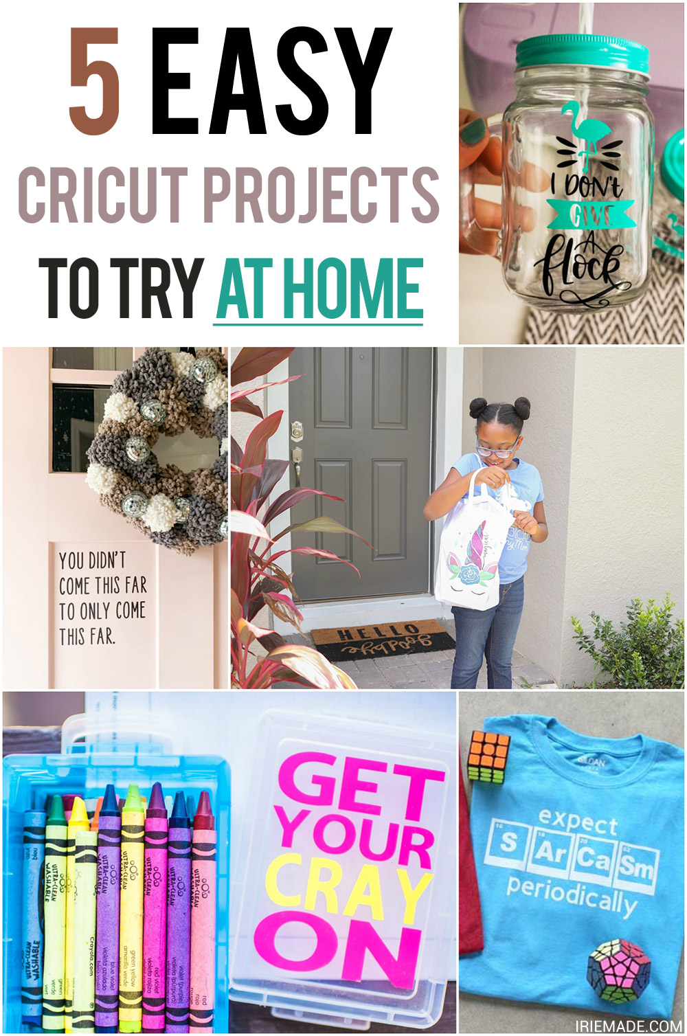 5 Easy Cricut Projects to Try While Staying at Home