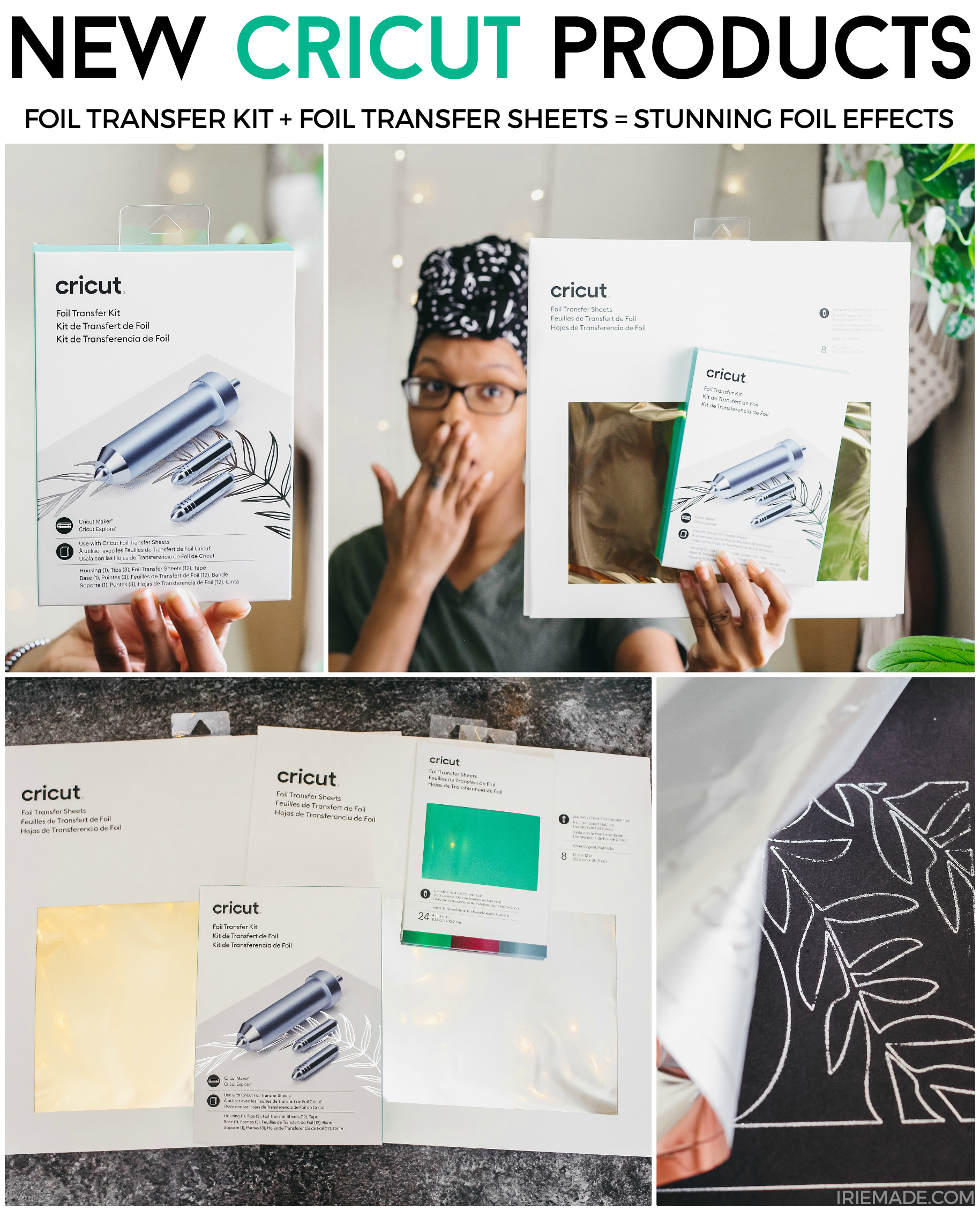 A Look at Cricut's Foil Transfer Kit